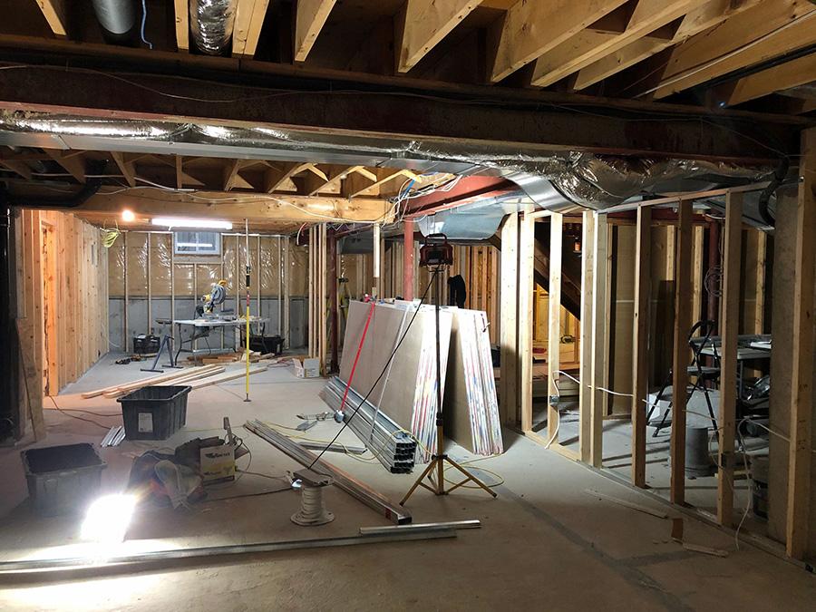 地下室装修