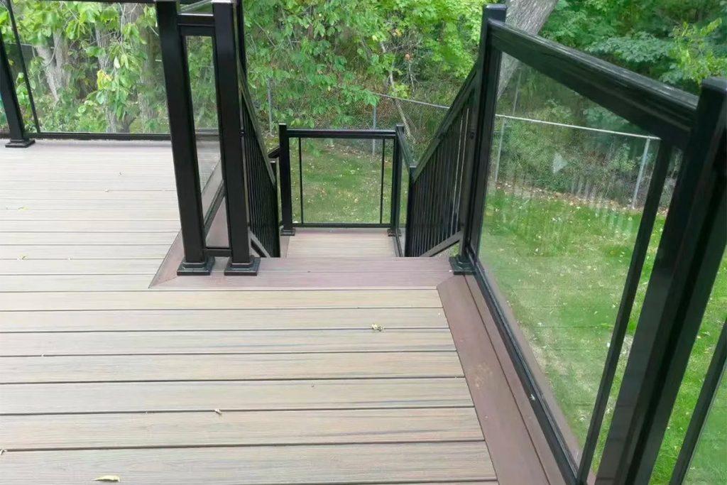 木平台 梯级 扶手搭建